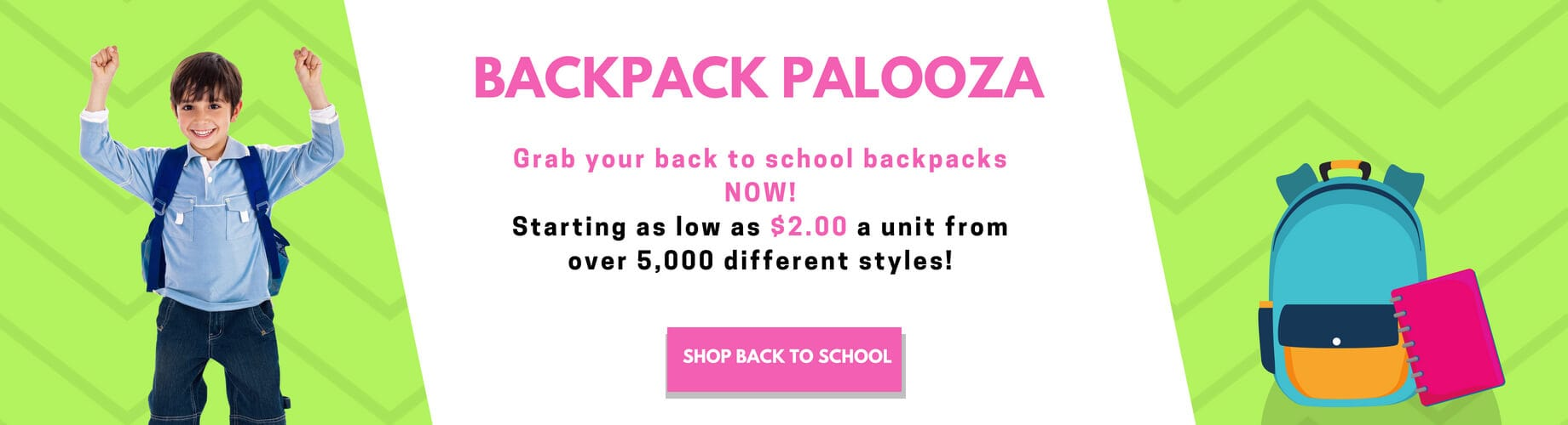 Wholesale Backpacks and bulk backpacks for school