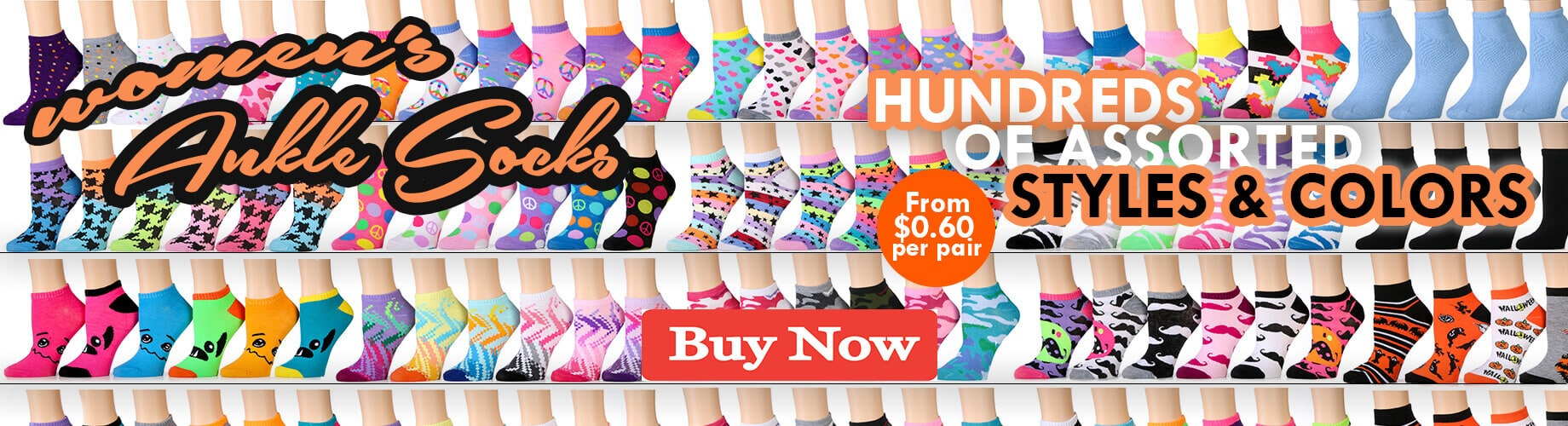 wholesale bulk womens ankle socks