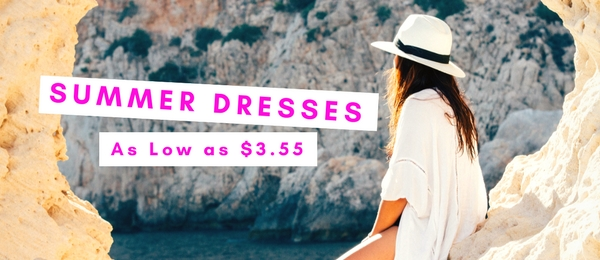 Summer dresses at wholesale prices for this summer. Summer dresses in bulk and in wholesale.