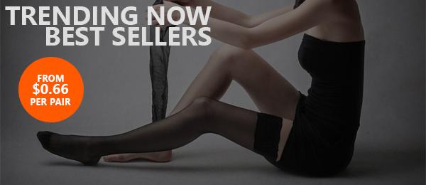 Best seller socks and hosiery cheap wholesale