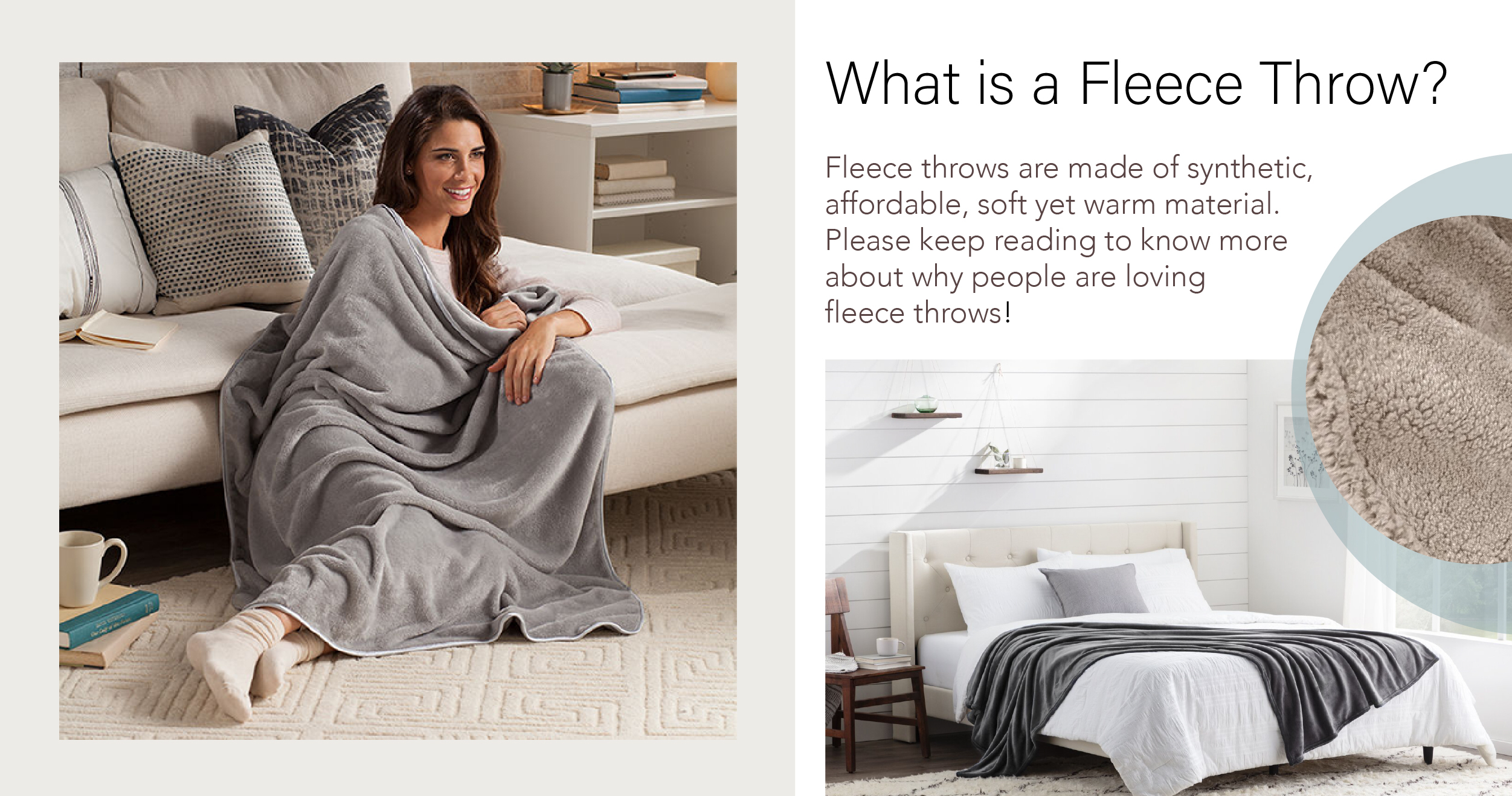 What is a Fleece Throw?