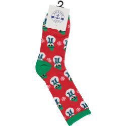 36 Wholesale Yacht & Smith Christmas Holiday Socks, Sock Size 9-11