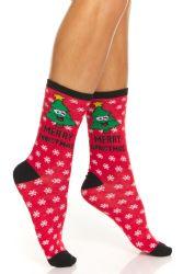 72 Wholesale Yacht & Smith Christmas Holiday Socks, Sock Size 9-11