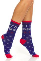 96 Wholesale Yacht & Smith Christmas Holiday Socks, Sock Size 9-11