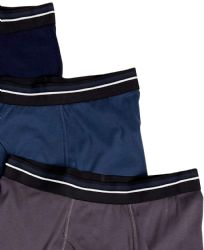 72 Wholesale Yacht & Smith Mens 100% Cotton Boxer Brief Assorted Colors Size X Large