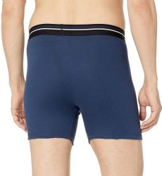 144 Wholesale Yacht & Smith Mens 100% Cotton Boxer Brief Assorted Colors Size X Large