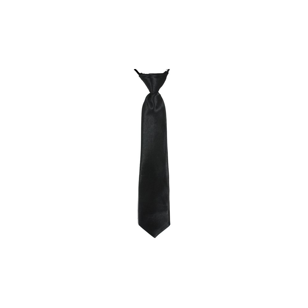 wholesale deal on children s neck tie in black only at