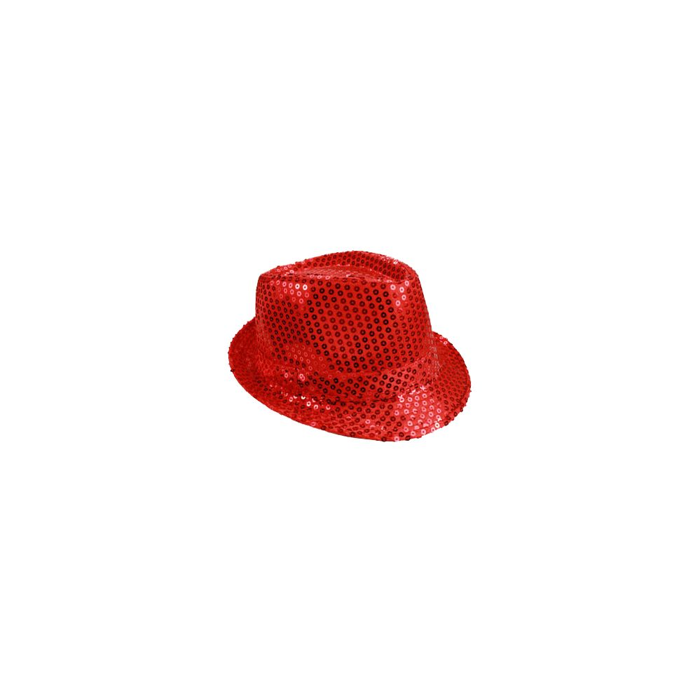 2e0db9221b7 Wholesale Deal On KIDS RED SEQUIN FEDORA HAT - at - wholesalesockdeals.com