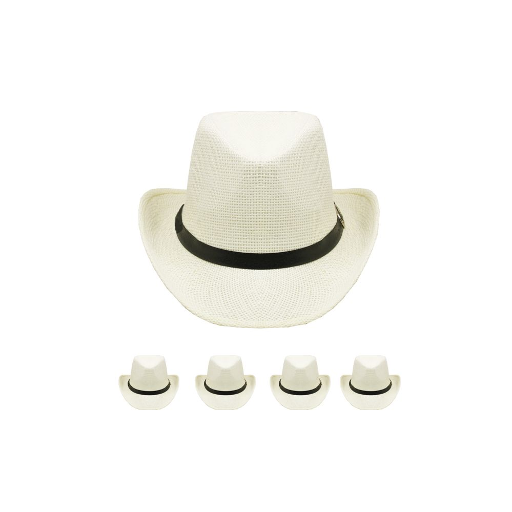 7131b52775029 24 Wholesale WESTERN COWBOY HAT IN WHITE - at - wholesalesockdeals.com