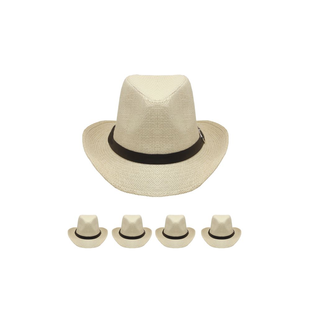 7523e3d82e070 24 Wholesale WESTERN COWBOY HAT IN OFF WHITE - at ...