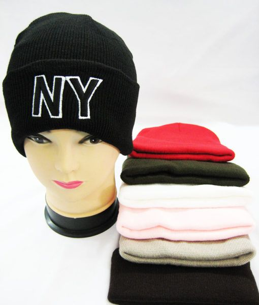 a937b277e88 Wholesale Deal On Winter NY Beanies - at - wholesalesockdeals.com
