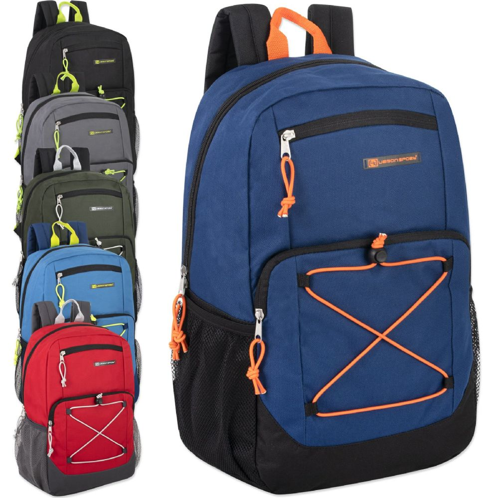 d8512ec84a72 Wholesale Deal On Urban Sport 18 Inch Deluxe Bungee Backpack With Padding -  at - wholesalesockdeals.com