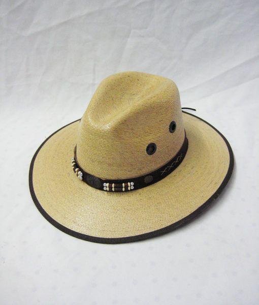 d73e3502046de 12 Wholesale Men s High Quality Western Cowboy Straw Coated Hat - at -  wholesalesockdeals.com
