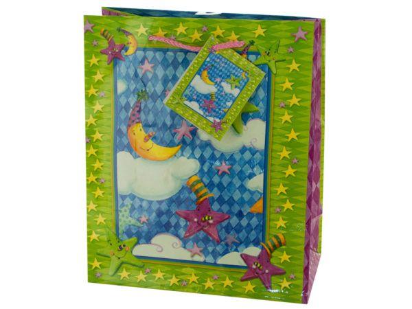 Wholesale Deal On Medium Moon Stars Birthday Gift Bag