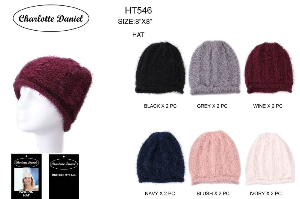 4f05e9178c8d3 36 Wholesale Slouch Pom Pom Winter Beanie - at - wholesalesockdeals.com