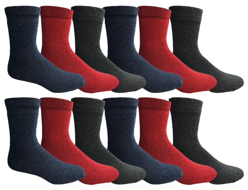 Ladies Non Skid Slipper Socks Size 9-11 Color Red-6 Pack