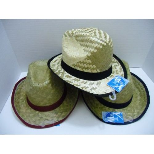 fea154f70a27d 48 Wholesale Child s Straw Cowboy Hat - at - wholesalesockdeals.com