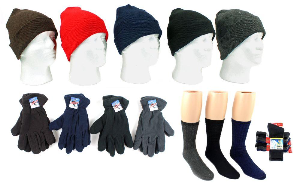 3e3d656e9a1 180 Wholesale Adult Knit Cuffed Hat