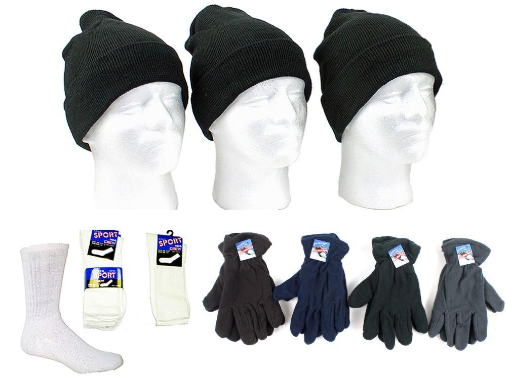 ed865a2a91a 180 Wholesale Adult Cuffed Knit Hats