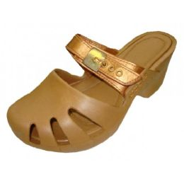 18 Wholesale Girls' Wedge Sandals(gold Color Only)