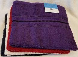 36 Wholesale 27x54 Heavy Assorted Colors Bath Towel