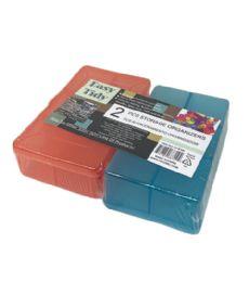72 Wholesale 2 Piece Storage Container Set