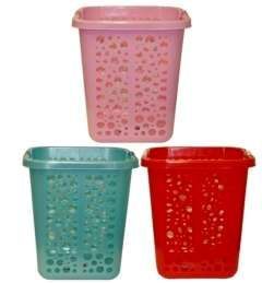 10 Wholesale Rectangle Plastic Laundry Basket