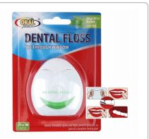 96 Wholesale Oral Fusion Dental Floss 120 Yards Mint