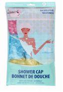 96 Wholesale Ideal Bath Shower Cap 9 Pack