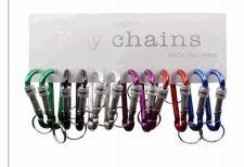 100 Wholesale Keychain Metal Clip