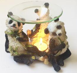 24 Wholesale Panda Tea Light Burner