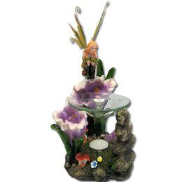 12 Wholesale Flower Fairy Tea Light Burner