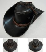 caabd6d893d Wholesale Deal On Shiny Leather-Like Cowboy Hat
